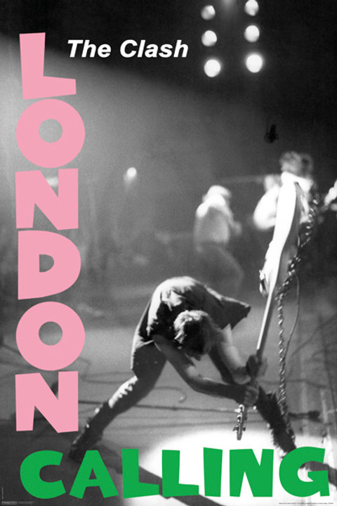 Clash, The: London Calling Poster