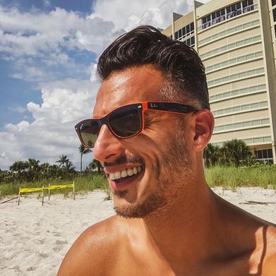 #beachlife #smile #sun #sand #beach #wav
