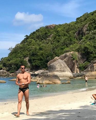 Paparazzi'd in Thailand. ._._._._._._._.