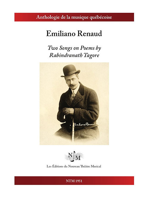 RENAUD, Emiliano - Two Songs on Poems by Rabindranath Tagore
