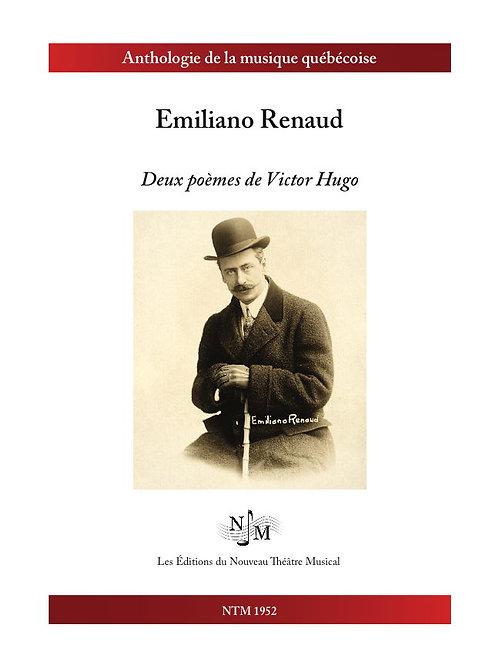RENAUD, Emiliano - deux poèmes de Victor Hugo