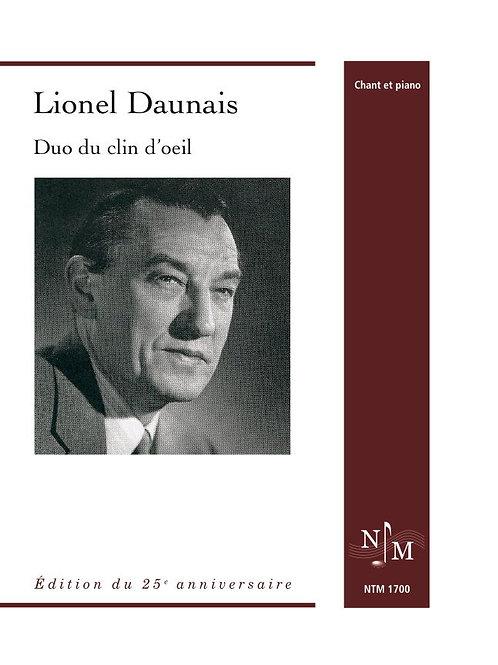 DAUNAIS, Lionel (1901-1982) - Duo du clin d'oeil
