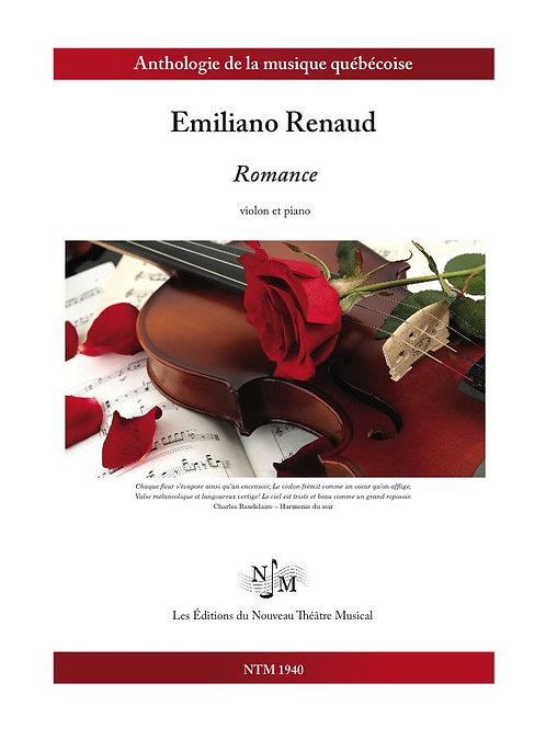RENAUD, Emiliano - Romance pour violon et piano