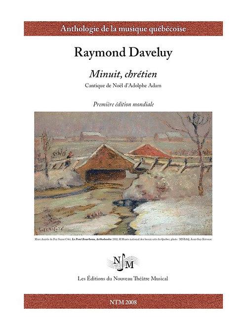 DAVELUY, Raymond (1926-2016) - Minuit, chrétien