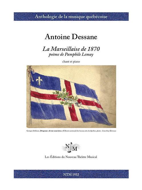DESSANE, Antoine (1826-1873) - La Marseillaise de 1870