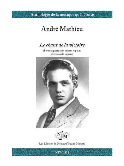MATHIEU, André (1929-1968) - Chant de la Victoire