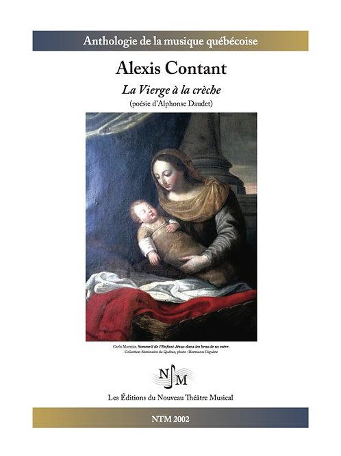 CONTANT, Alexis - La Vierge à la crèche (Alphonse Daudet)