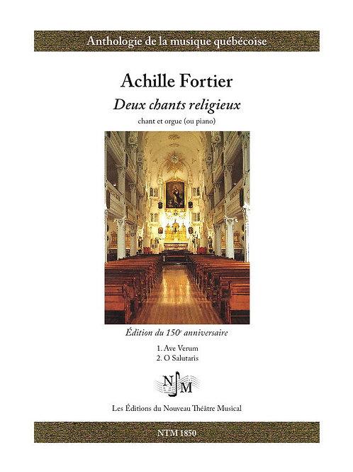 FORTIER, Achille (1864-1939) - Deux chants religieux