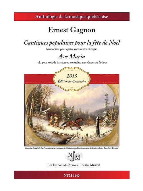 GAGNON, Ernest (183401915) - Cantiques pour la fête de Noël