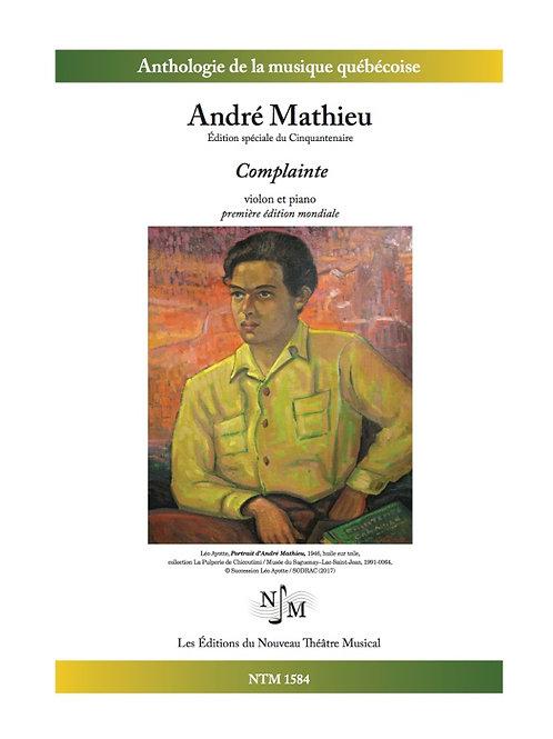 MATHIEU, André - Complainte