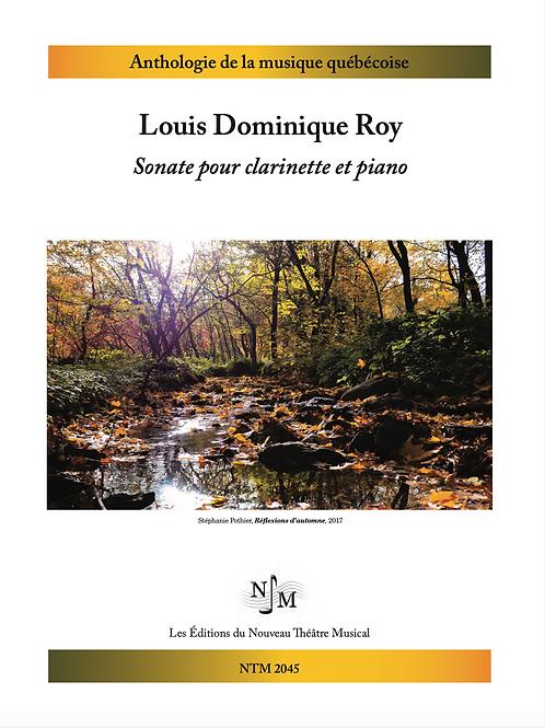 ROY, Louis Dominique - Sonate pour clarinette et piano