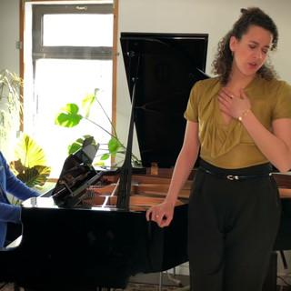 MATHIEU, André - Il pleure dans mon coeur (Verlaine) - Rose NAGGAR-TREMBLAY, mezzo-soprano