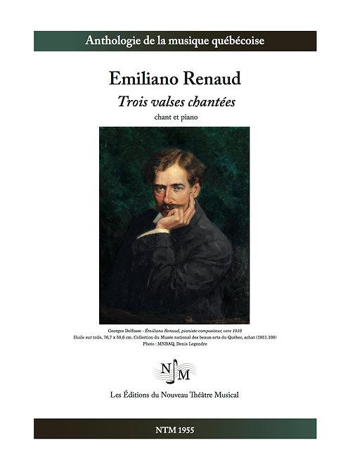 RENAUD, Emiliano - Trois valses chantées