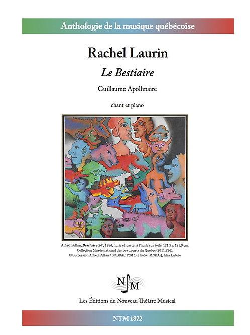 LAURIN, Rachel (1961-) - Le Bestiaire (Guillaume Apollinaire)