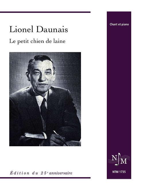 DAUNAIS, Lionel (1901-1982) - Le petit chien de laine