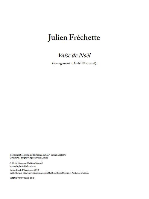 FRÉCHETTE, Julien - Valse de Noël