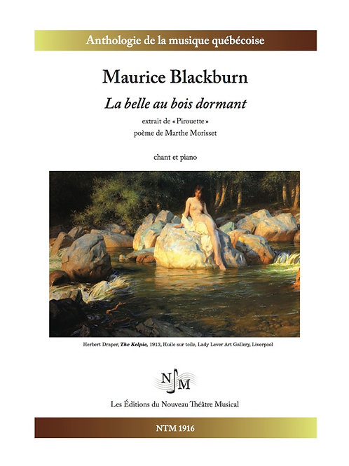 BLACKBURN, Maurice - La belle au bois dormant