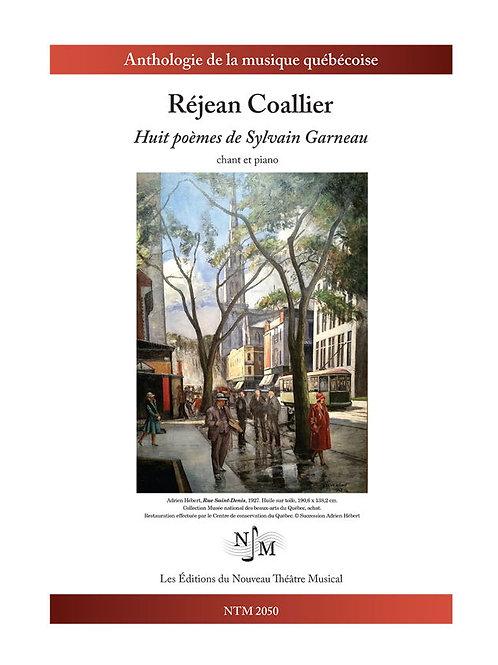 COALLIER, Réjean - Huit poèmes de Sylvain Garneau
