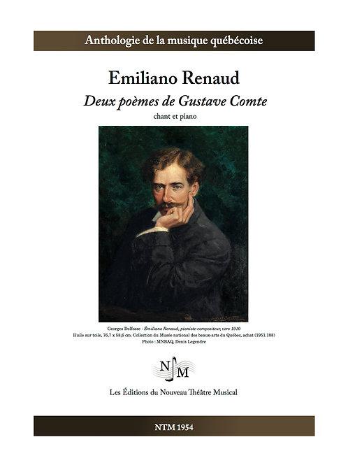 RENAUD, Emiliano - Deux poèmes de Gustave Comte