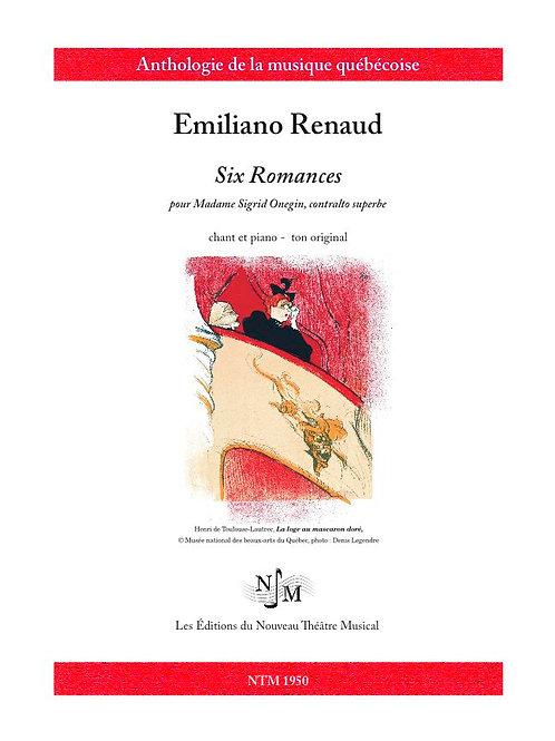 RENAUD, Emiliano - Six Romances pour Sigrid Onegin