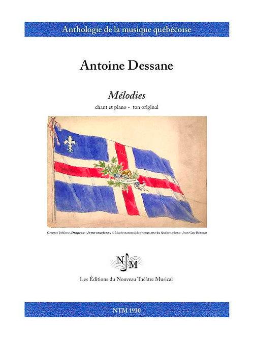 DESSANE, Antoine (1826-1873) - Mélodies
