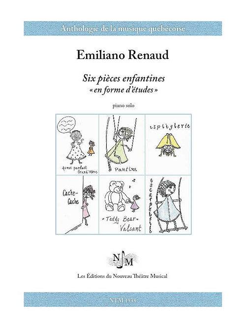 RENAUD, Emiliano - Six pièces enfantines « en forme d'études »