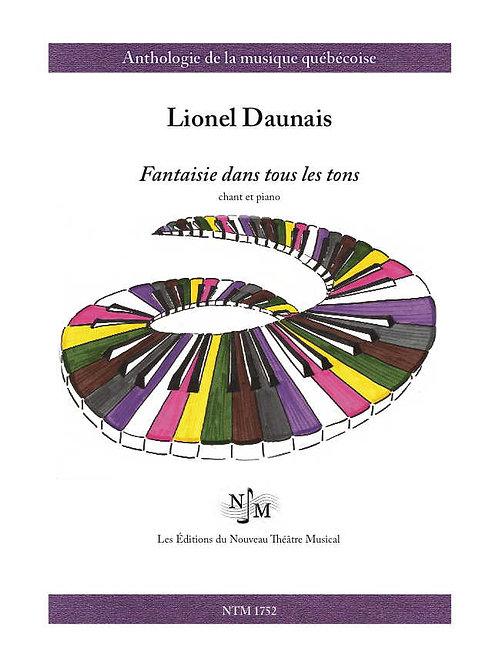DAUNAIS, Lionel (1901-1982) - Fantaisie dans tous les tons