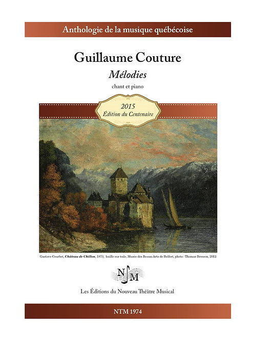 COUTURE, Guillaume (1851-1915) - Mélodies