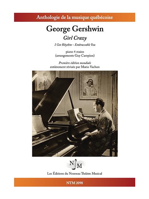 GERSHWIN, George - « Girl Crazy » - version Piano 4 mains