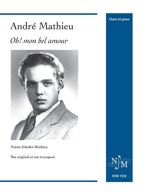 MATHIEU, André (1929-1968) - Oh! mon bel amour