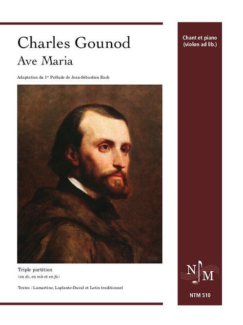 GOUNOD, Charles - Ave Maria - Le livre de la vie