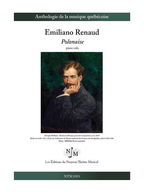 RENAUD, Emiliano - Polonaise pour piano