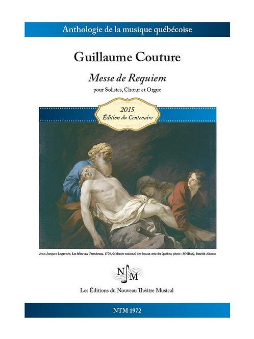COUTURE, Guillaume (1851-1915) - Messe de Requiem
