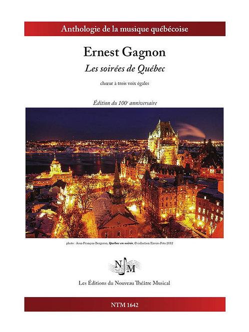 GAGNON, Ernest (1834-1915) - Les soirées de Québec