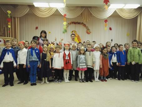 Встреча первоклассников в детском саду. Мюзикл.
