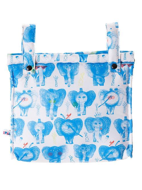 Bolso talega para carrito de paseo Blue Dumbo