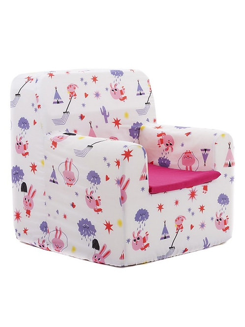 Sillon infantil Pink Rabbit