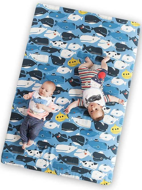 Colchoneta de suelo Happy Whales