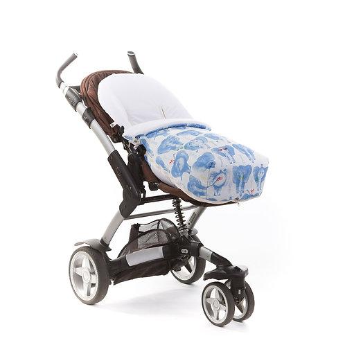 Saco universal para carrito de paseo Blue Dumbo