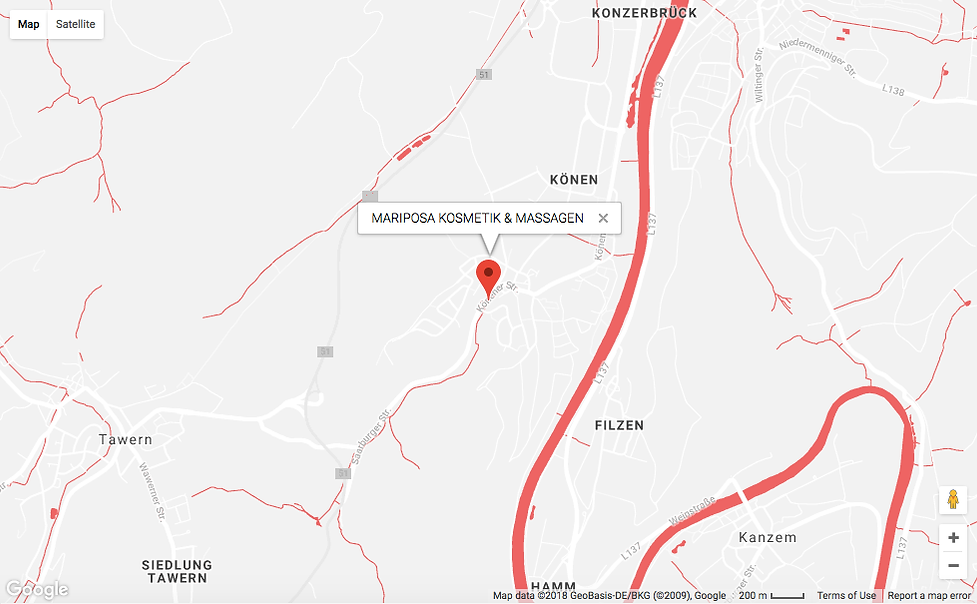 MARIPOSA GOOGLE MAPS