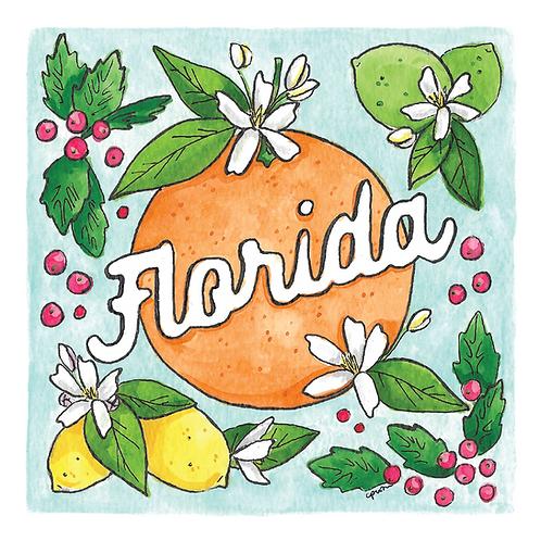 Florida Flora Print