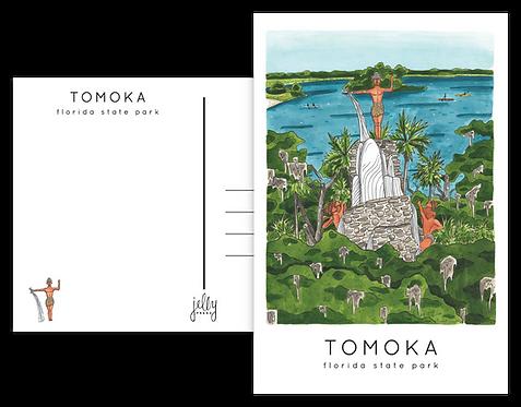Tomoka State Park Postcard
