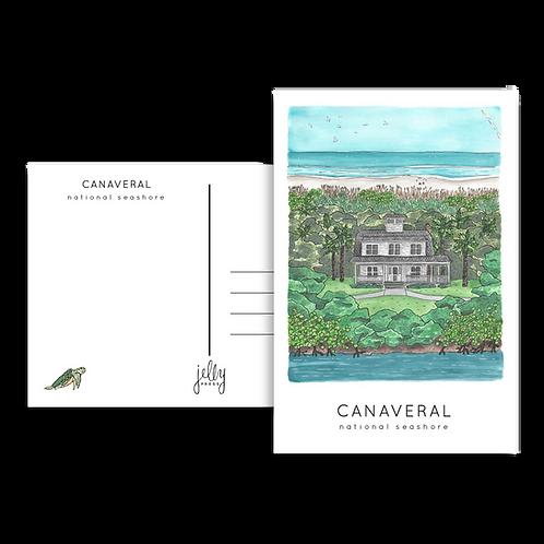 Canaveral National Seashore Postcard