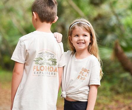 Society of Florida Explorers Youth Unisex T-Shirt