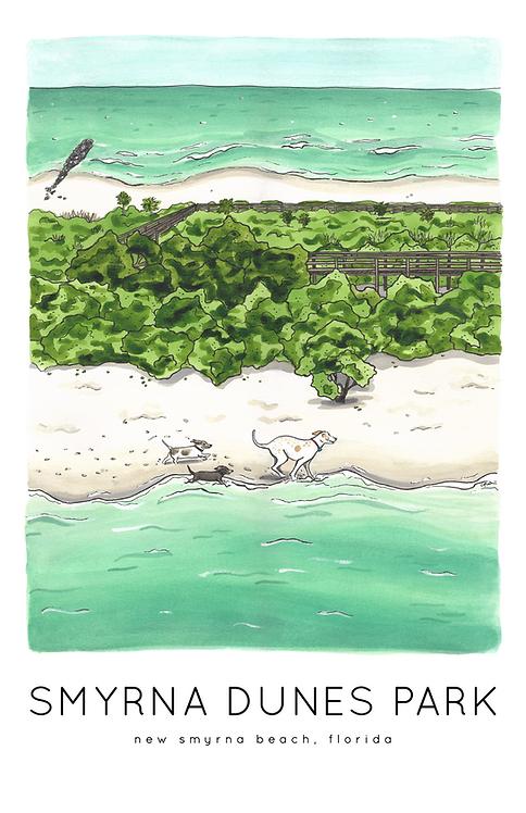 Smyrna Dunes Park Print