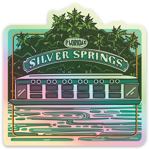Silver Springs Holographic State Park Sticker