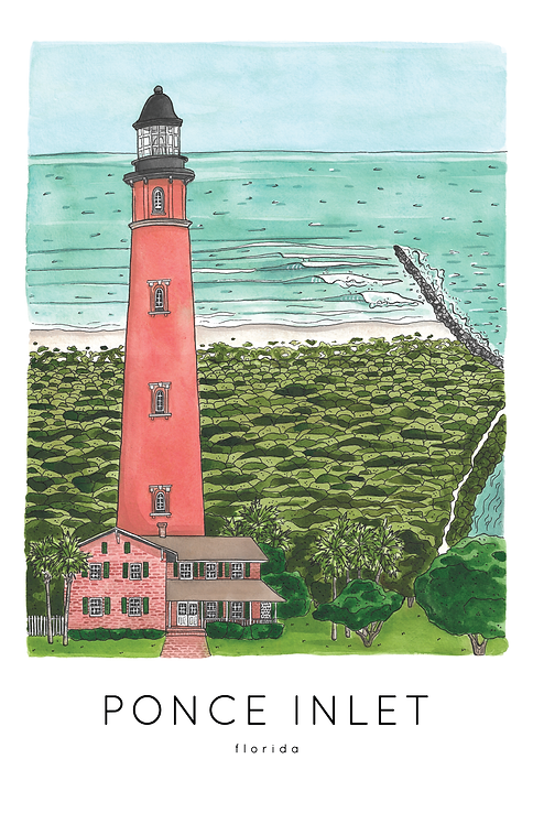 Ponce Inlet Print