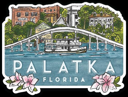 Palatka Travel Sticker