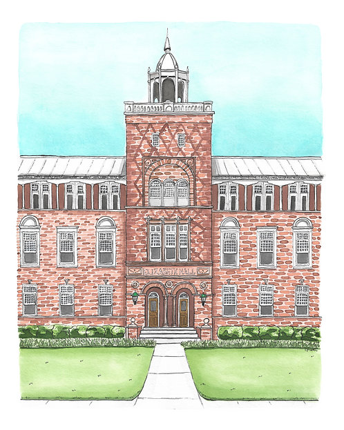 Elizabeth Hall Original Painting
