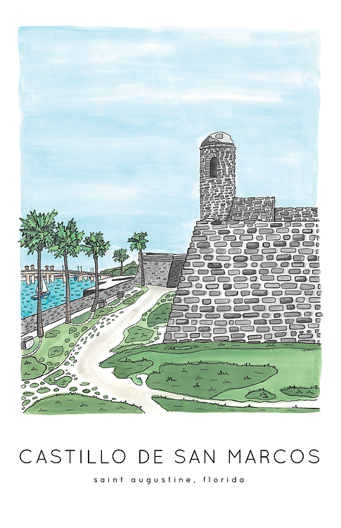 Castillo de San Marcos Print